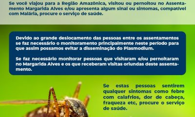 Prefeitura de Eunápolis reforça alerta à população sobre aumento de casos de malária na região 22