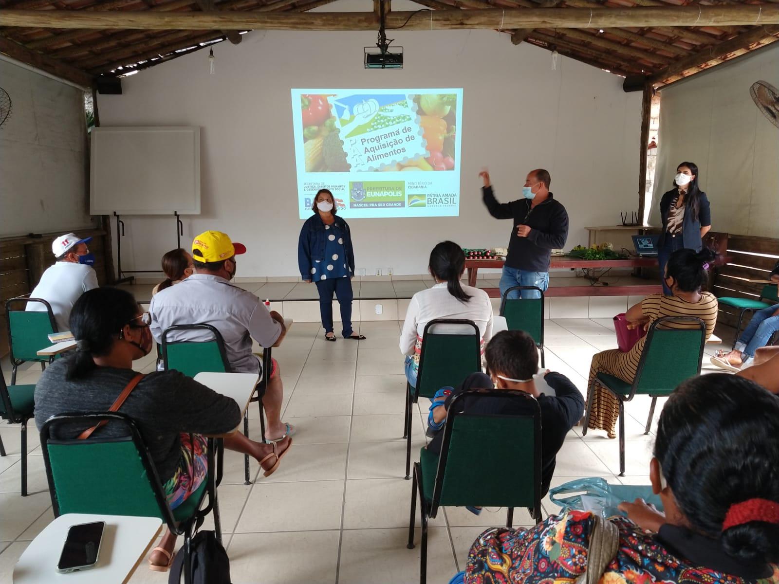 Secretaria de Agricultura apresenta resultado dos selecionados do Programa de Aquisição de Alimentos 24