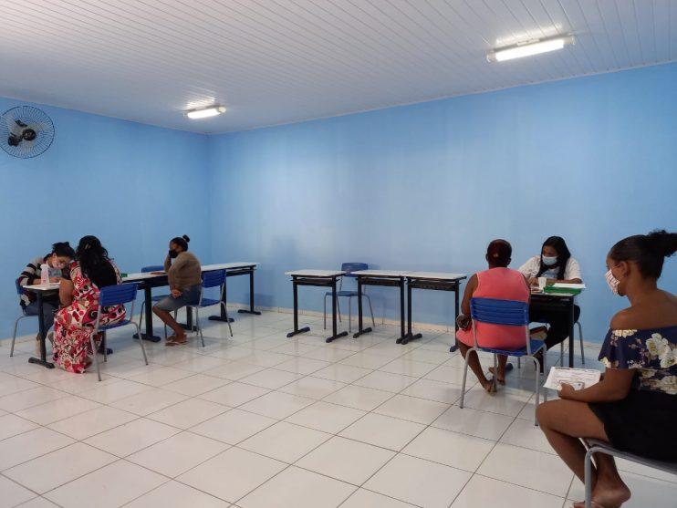 Secretaria de Assistência Social leva serviços assistenciais à comunidade do Ponto Maneca 27