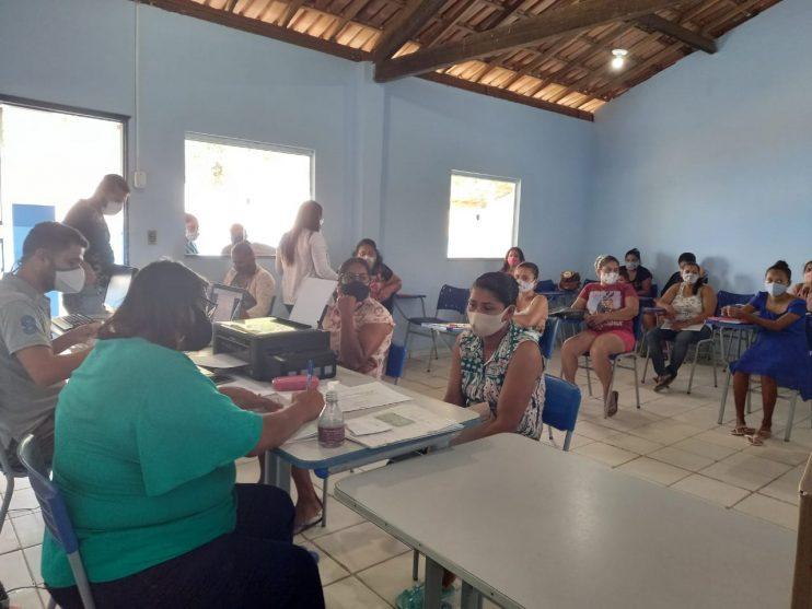Secretaria de Assistência Social leva serviços assistenciais à comunidade do Ponto Maneca 25