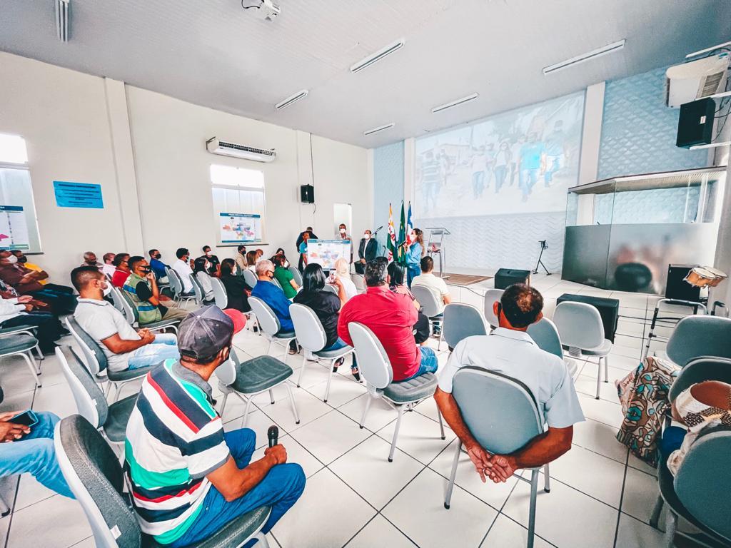 Cordélia se reúne com administradores de bairros e distritos para planejamento do Plano Plurianual 23