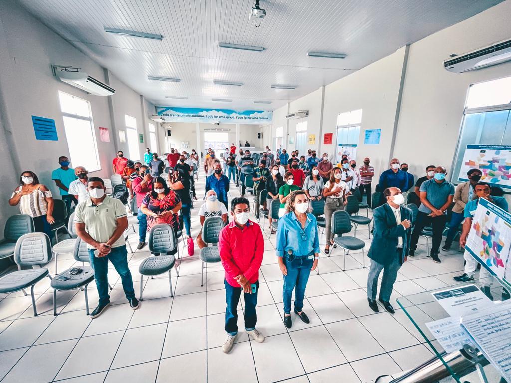 Cordélia se reúne com administradores de bairros e distritos para planejamento do Plano Plurianual 24