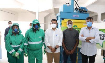 """Com apoio da Prefeitura de Eunápolis, catadores recebem capacitação e equipamentos no programa """"Pró-Catador"""" 1"""