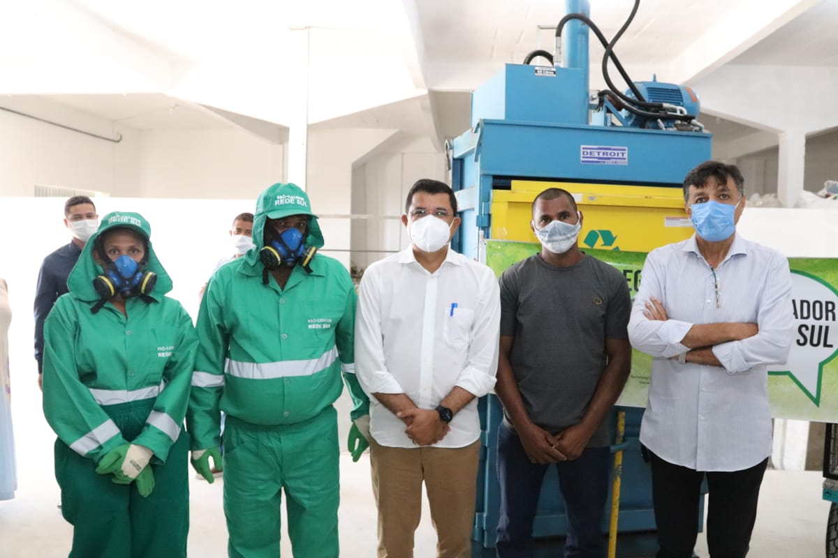 """Com apoio da Prefeitura de Eunápolis, catadores recebem capacitação e equipamentos no programa """"Pró-Catador"""" 20"""