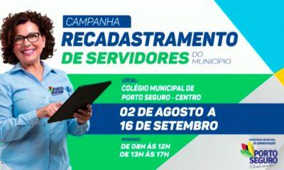 Atenção servidor público municipal de Porto Seguro! 124