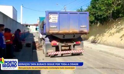 [Prefeitura em Ação] Operação tapa-buracos em Porto Seguro melhora mobilidade e leva segurança para motoristas 16