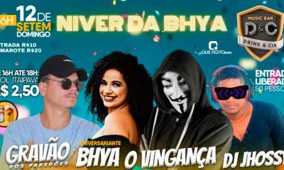 Niver da Bhya no Drink & Cia - Eunápolis-Ba 27