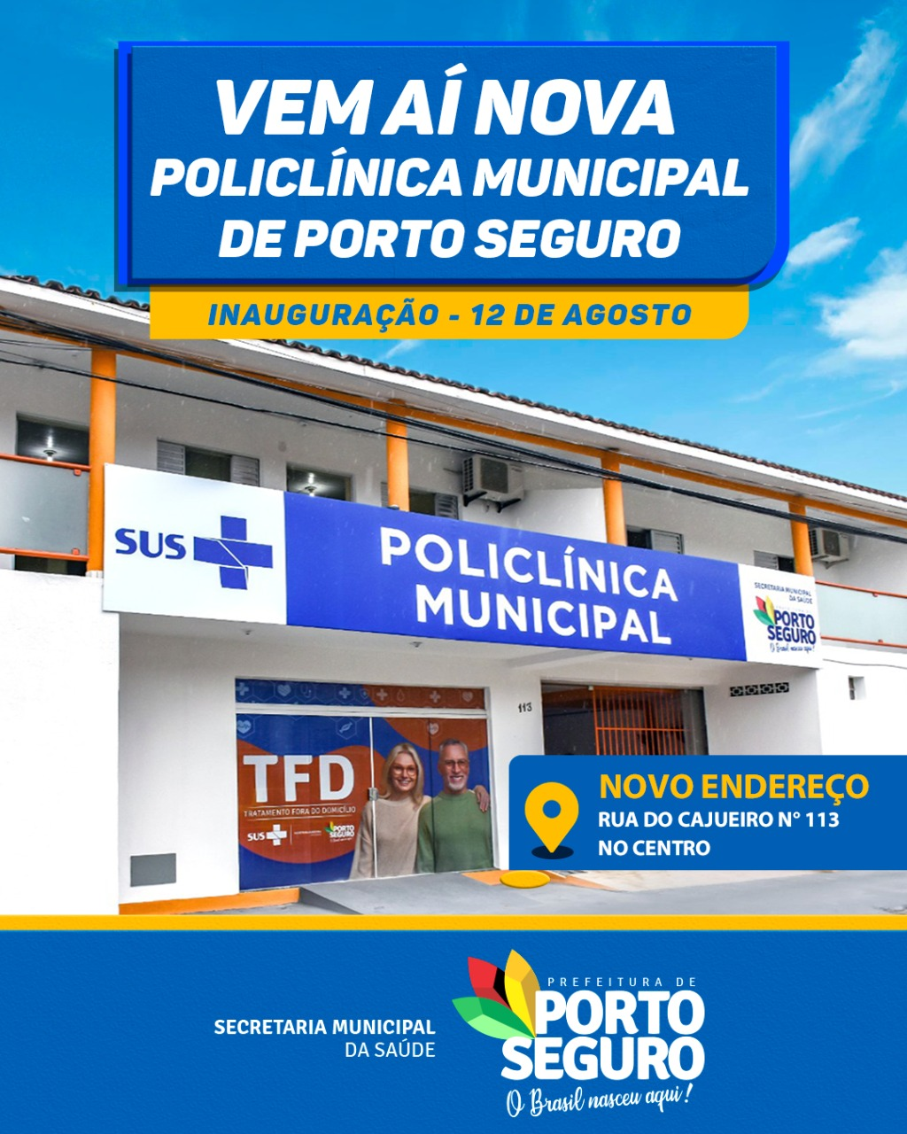 Nova Policlínica Municipal de Porto Seguro 23
