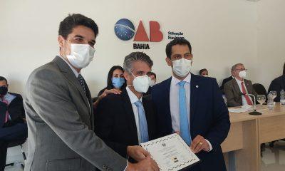 Arthur Dapé concede título de cidadania ao presidente da OAB Bahia 16