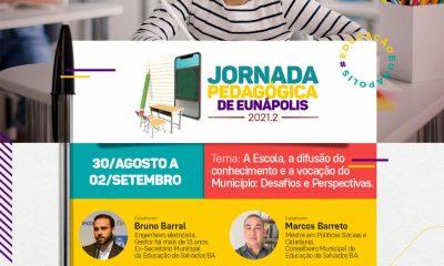 Jornada pedagógica reunirá profissionais da educação durante quatro dias em Eunápolis 23