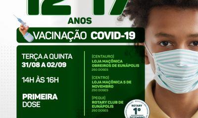 Prefeitura inicia vacinação contra Covid-19 para adolescentes com comorbidades 49