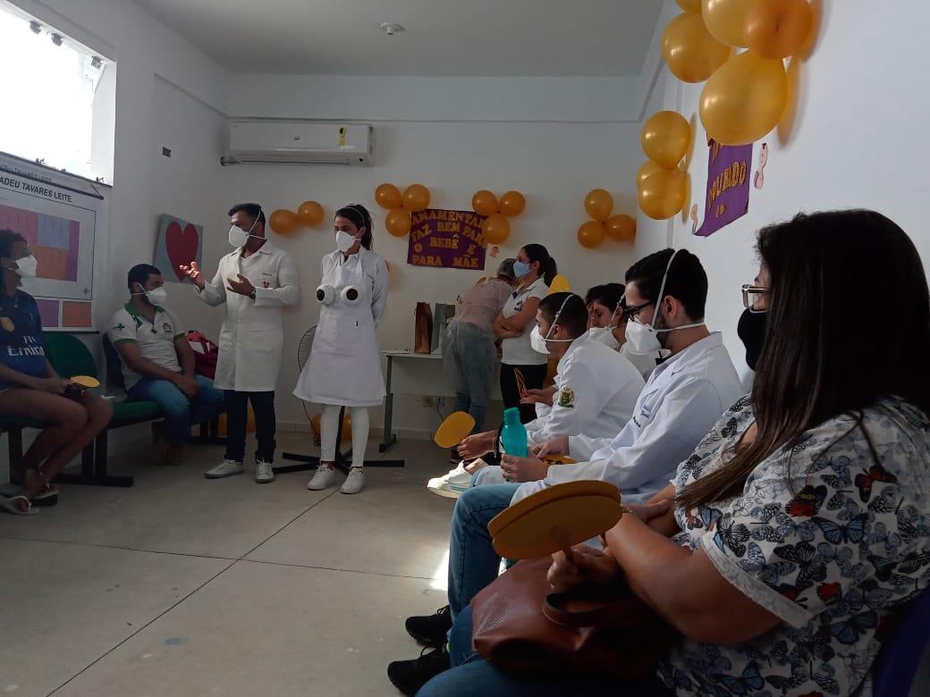 """""""Hora do Mamaço"""" finaliza ações da campanha Agosto Dourado em Eunápolis 32"""