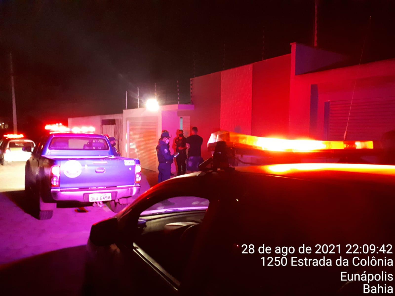Força-Tarefa acaba com festas clandestinas em Eunápolis e interdita estabelecimento 18