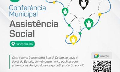 Conferência Municipal de Assistência Social acontece nesta segunda-feira em Eunápolis 53