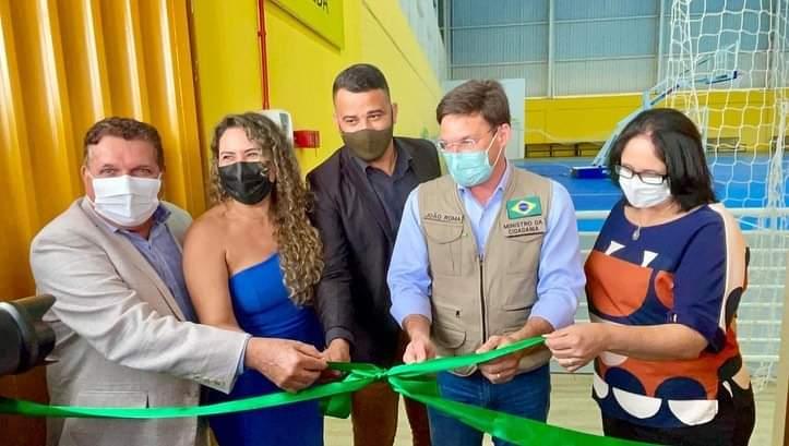 Inauguração da Estação Cidadania é marco para infraestrutura esportiva de Eunápolis 32