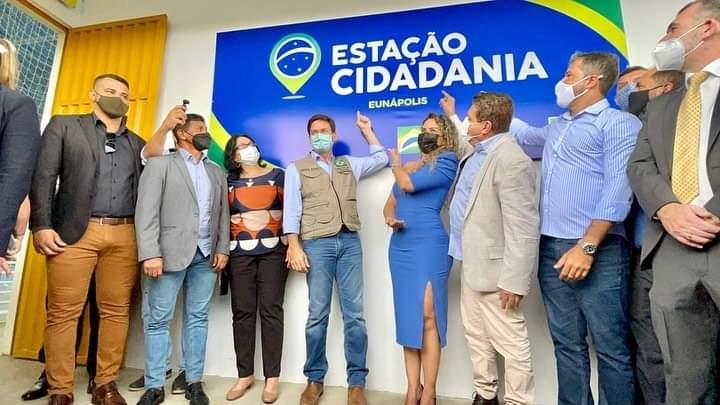 Inauguração da Estação Cidadania é marco para infraestrutura esportiva de Eunápolis 36