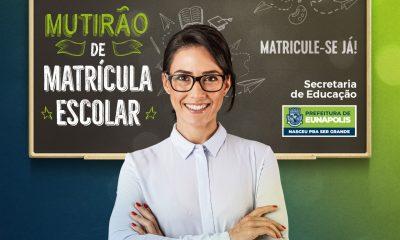 Secretaria de Educação prorroga período de matrículas na rede municipal de Eunápolis 43
