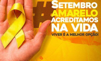 Secretaria de Saúde prepara novidades para lançamento do Setembro Amarelo 20