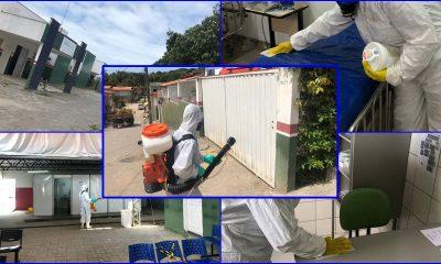 Porto Seguro: Unidades de Saúde passam por descontaminação de ambientes 45