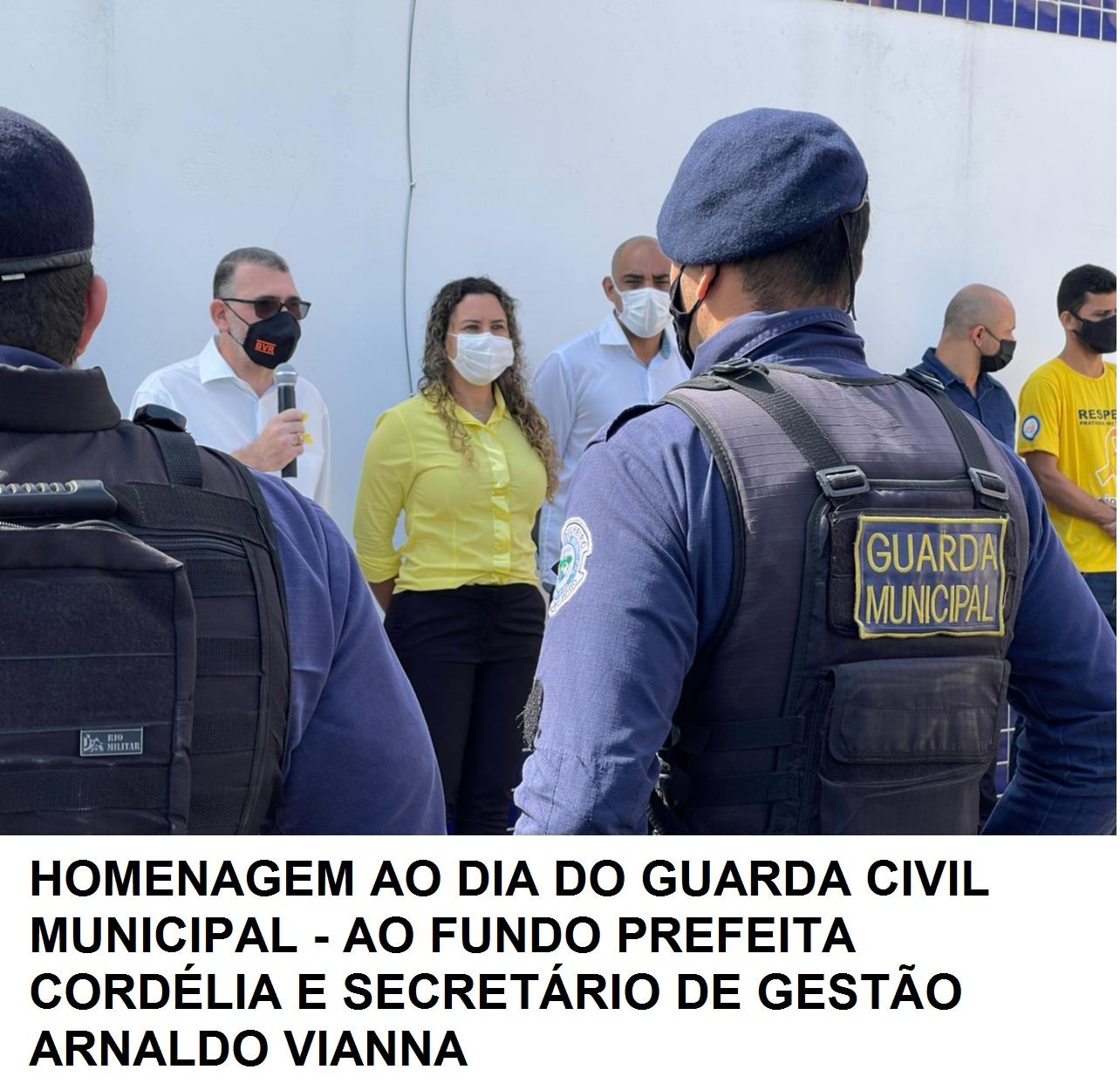 Prefeita Cordélia Torres participa de homenagem ao Dia do Guarda Civil Municipal 23