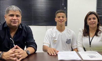 Eunapolitano promessa do Flamengo assinou contrato com o Santos 54