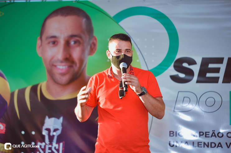Ídolo do esporte brasileiro, Serginho do Vôlei faz palestra emocionante no município de Eunápolis 35