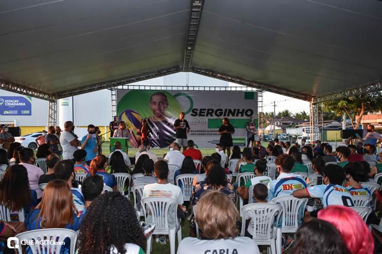 Ídolo do esporte brasileiro, Serginho do Vôlei faz palestra emocionante no município de Eunápolis 57
