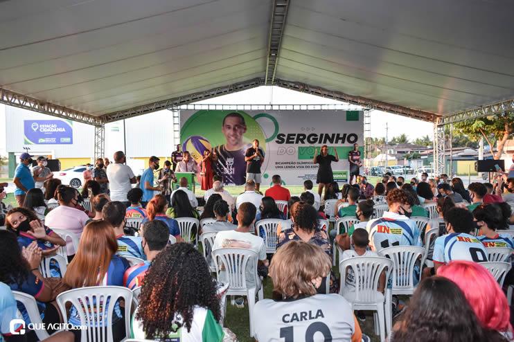 Ídolo do esporte brasileiro, Serginho do Vôlei faz palestra emocionante no município de Eunápolis 53