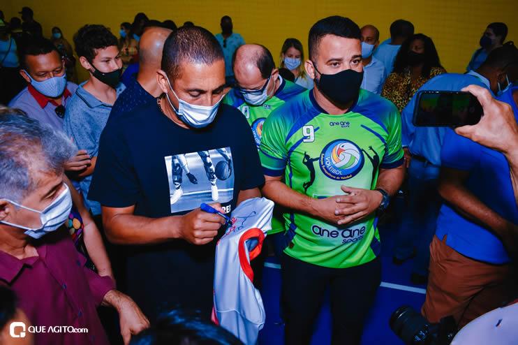 Ídolo do esporte brasileiro, Serginho do Vôlei faz palestra emocionante no município de Eunápolis 24