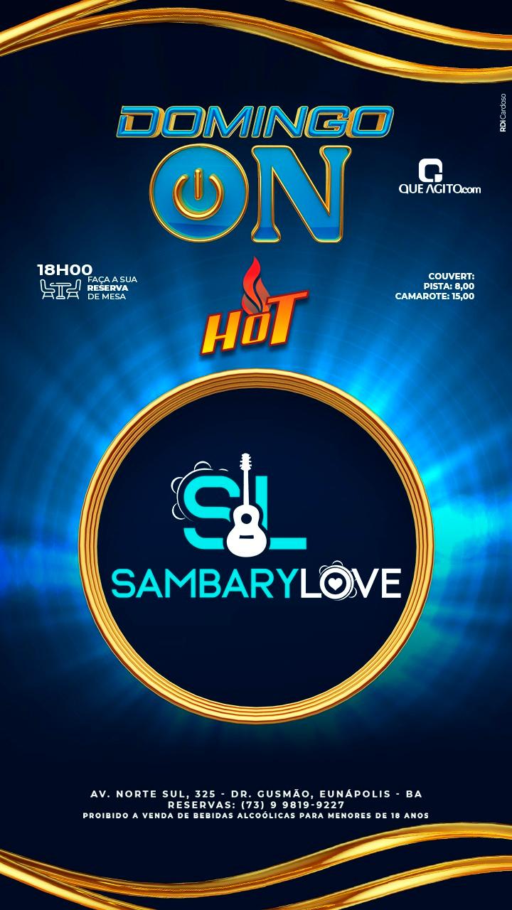 [DOMINGO ON] SAMBARY LOVE no Hot - Eunápolis-Ba 21
