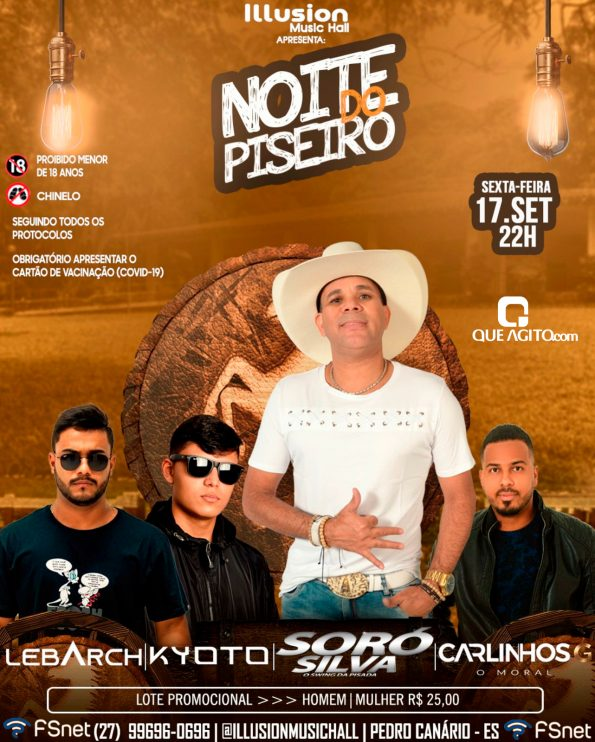 Noite do Piseiro com Soró Silva na Illusion - Pedro Canário - ES 17