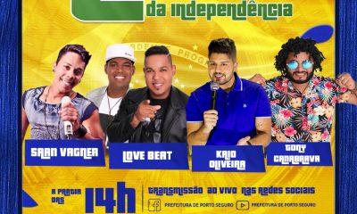Live da Independência irá contar com grandes nomes da música regional 23