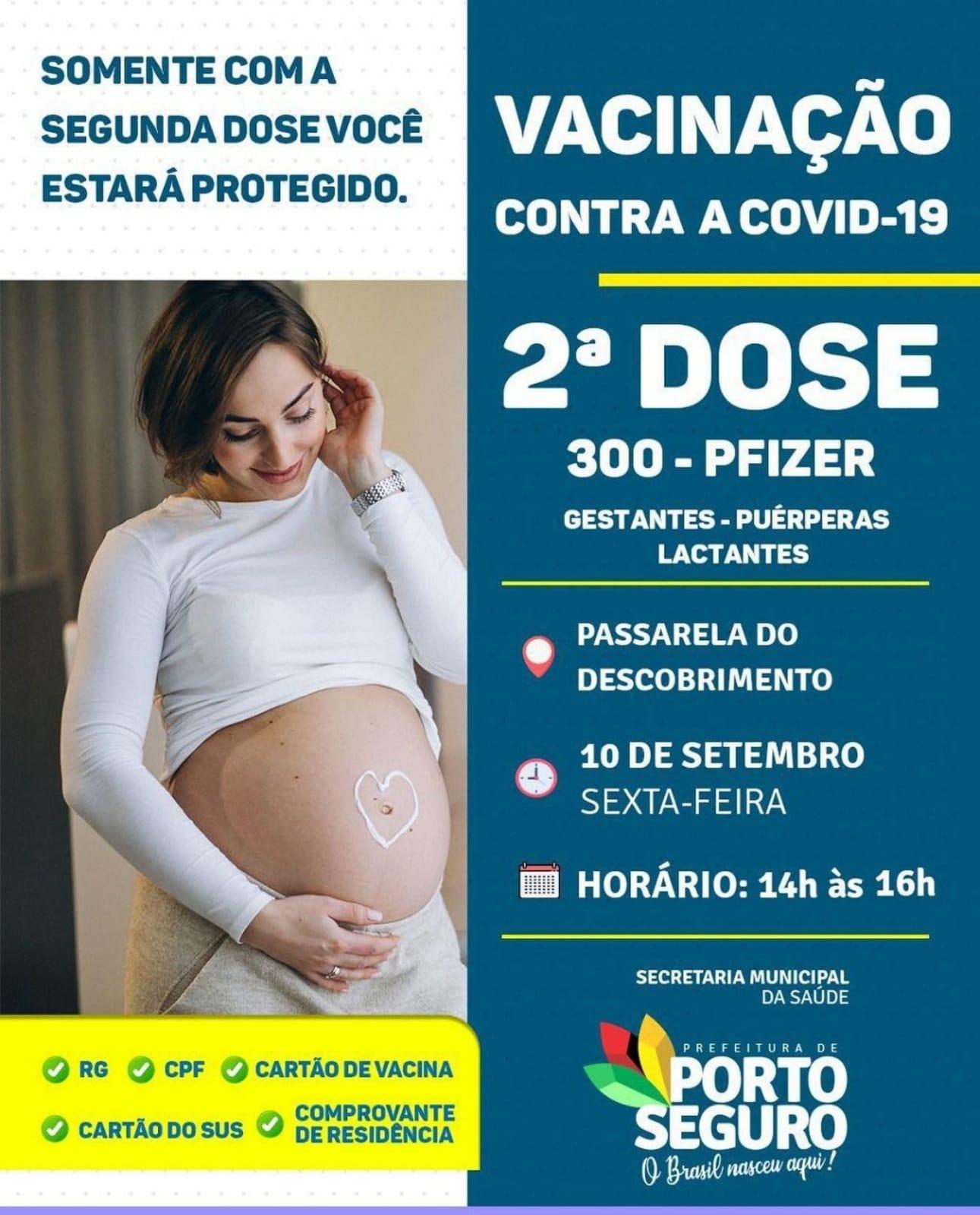 Porto Seguro: Cronograma de Vacinação contra a Covid-19 (10 de SETEMBRO) 23