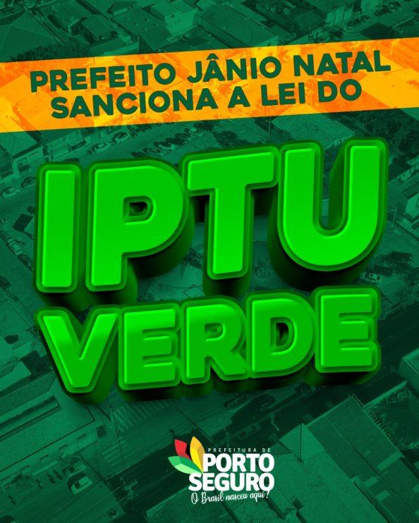 PREFEITO JÂNIO NATAL SANCIONA A LEI DO IPTU VERDE 18