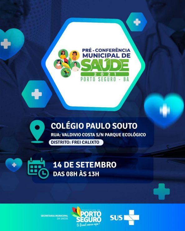 PRÉ-CONFERÊNCIA MUNICIPAL DE SAÚDE DE PORTO SEGURO 2021 18