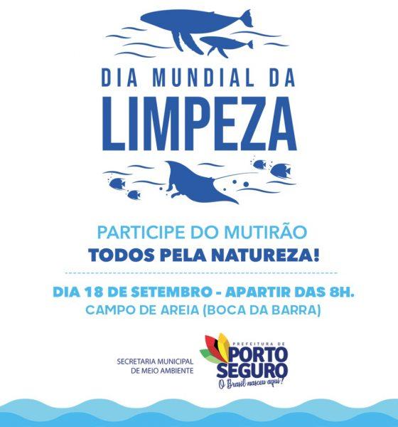 Porto Seguro abraça Dia Mundial da Limpeza com mutirão nas praias e consciência ecológica 16