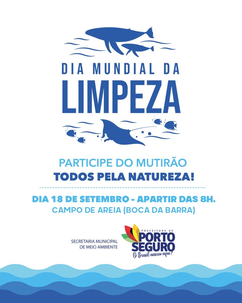Porto Seguro abraça Dia Mundial da Limpeza com mutirão nas praias e consciência ecológica 23