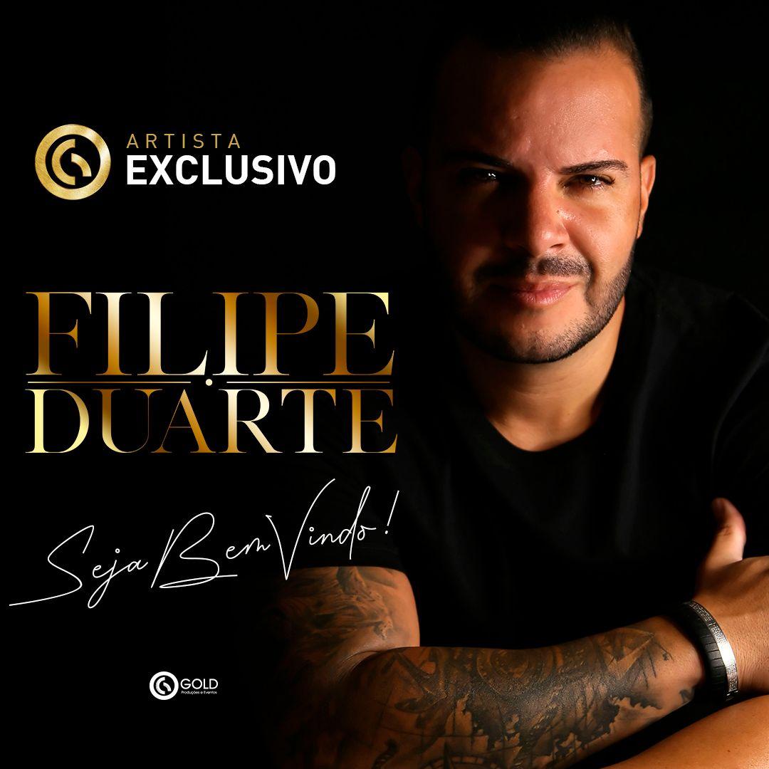 Filipe Duarte assina contrato com a Gold produtora de Ferrugem, Xande de Pilares e Tie 26