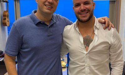 Filipe Duarte assina contrato com a Gold produtora de Ferrugem, Xande de Pilares e Tie 9