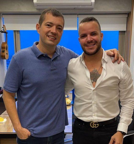 Filipe Duarte assina contrato com a Gold produtora de Ferrugem, Xande de Pilares e Tie 64