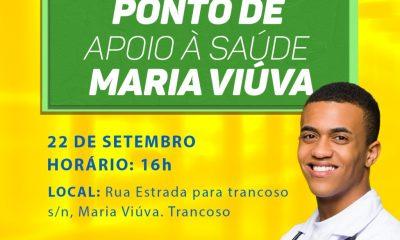 EM TRANCOSO, MARIA VIÚVA GANHA PONTO DE APOIO À SAÚDE 16