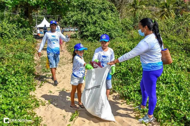 Dia Mundial de Limpeza marcado por mutirão nas praias de Porto Seguro 44