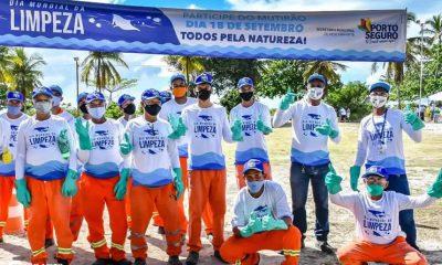 Dia Mundial de Limpeza marcado por mutirão nas praias de Porto Seguro 4