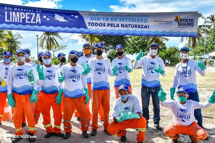 Dia Mundial de Limpeza marcado por mutirão nas praias de Porto Seguro 29