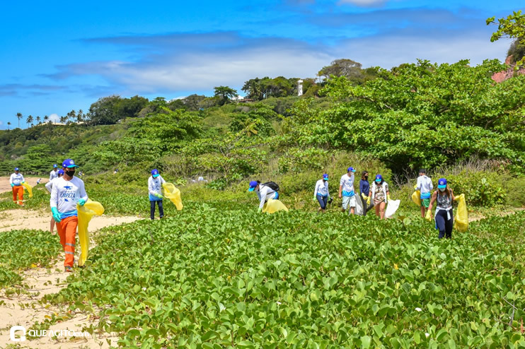 Dia Mundial de Limpeza marcado por mutirão nas praias de Porto Seguro 34