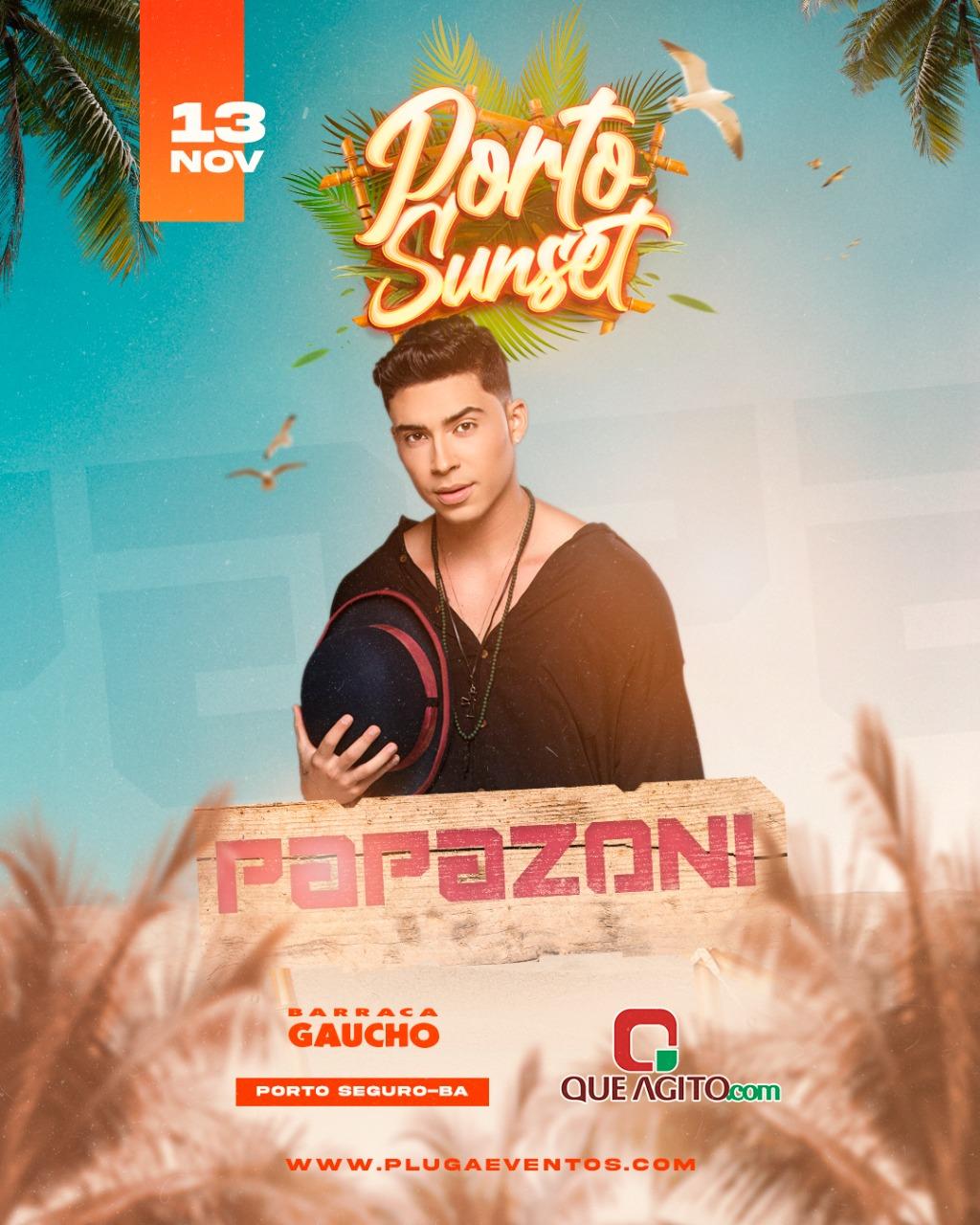 Papazoni está de volta a Porto Seguro, com mega show marcado para o dia 13 de novembro 23