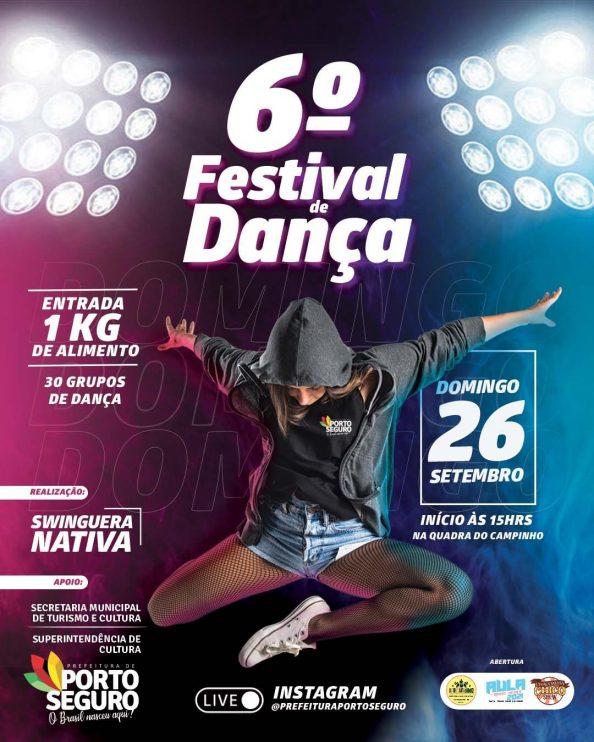 Porto Seguro: Domingo tem 6º Festival de dança na Quadra do Campinho 23