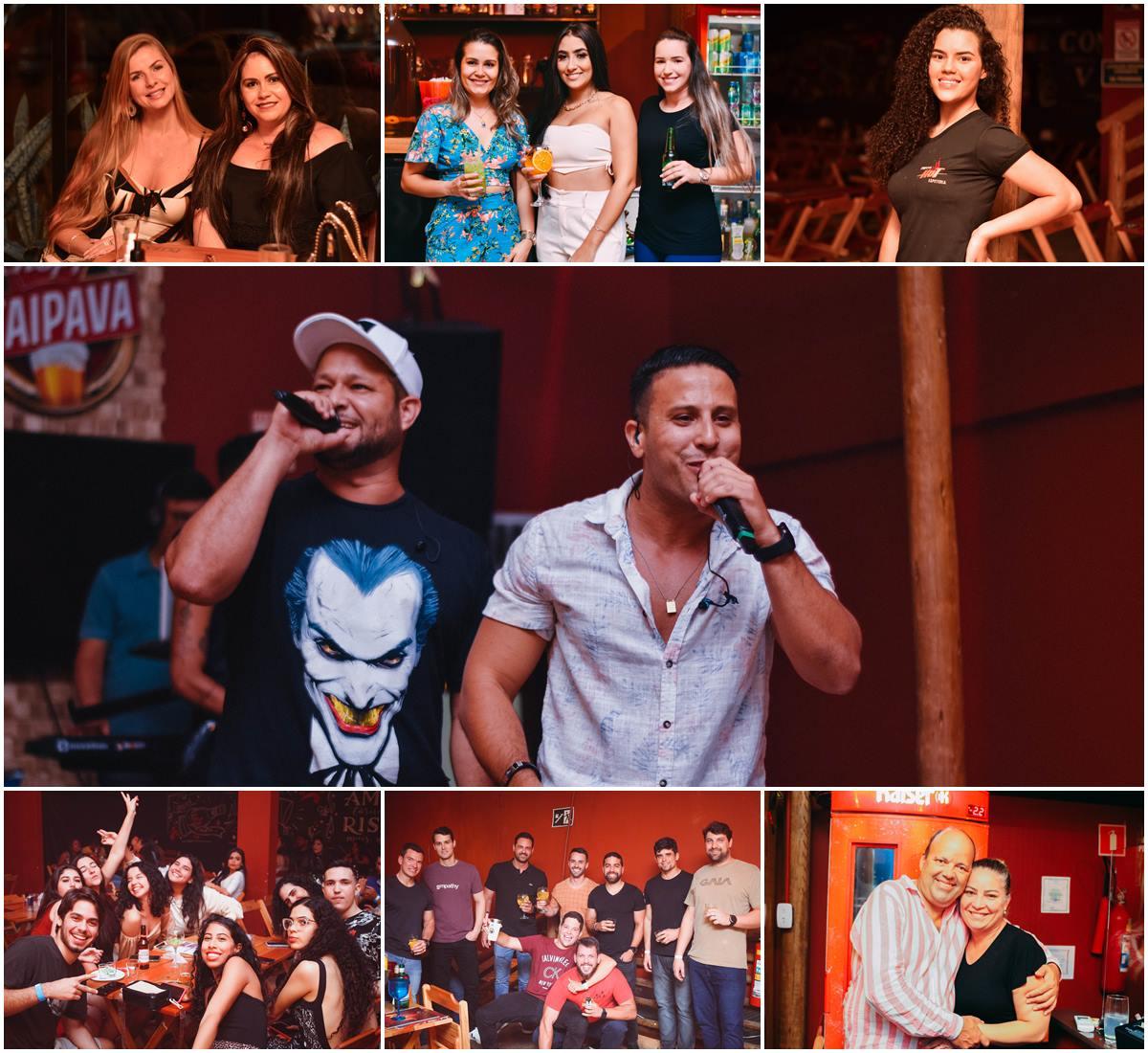 Público vai ao delírio com apresentação da dupla André Lima e Rafael na Hot 22