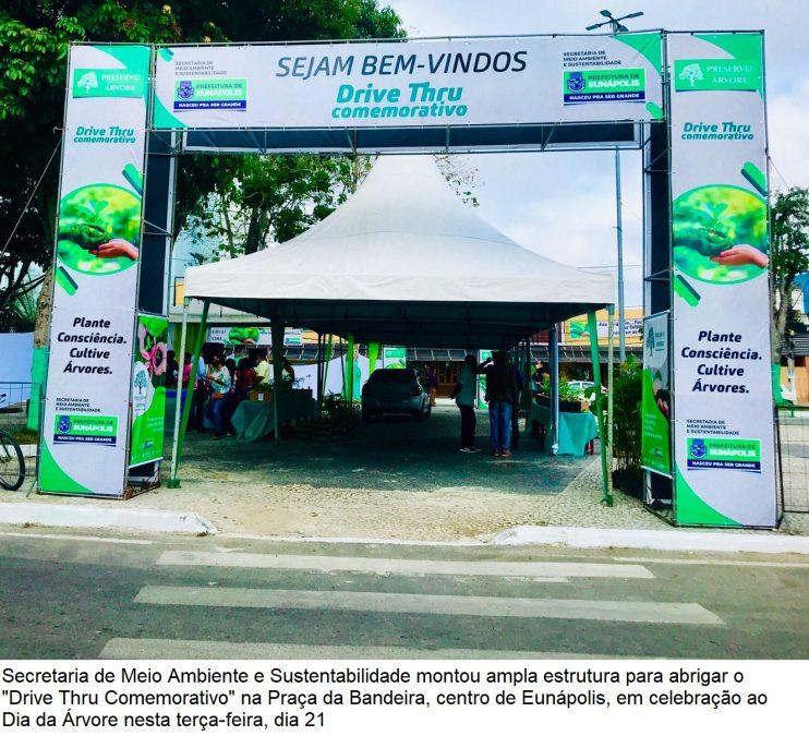 Dia da Árvore: Doação de mudas incentiva arborização em Eunápolis 31