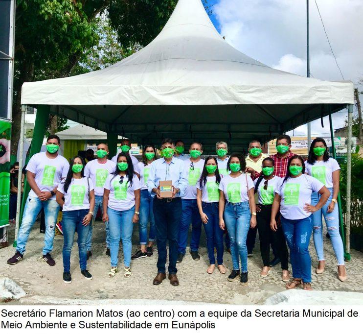 Dia da Árvore: Doação de mudas incentiva arborização em Eunápolis 33